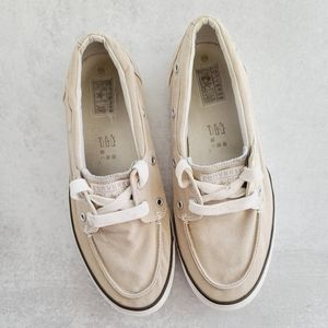 CONVERSE One Star Canvas Boat Shoes 10.5